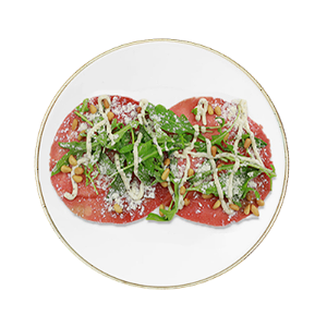 Foto Beef carpaccio 4pc
