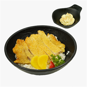 Foto Fried Whitefish Meshi